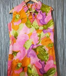 Dresses & Skirts - Vintage Mutli Colored Dress